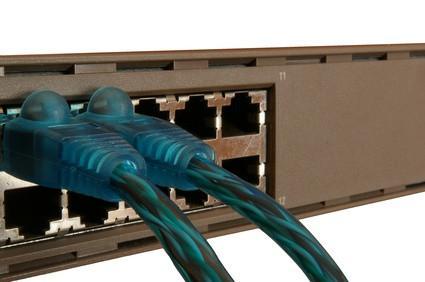Den virtuella LAN Funktion på Ethernet