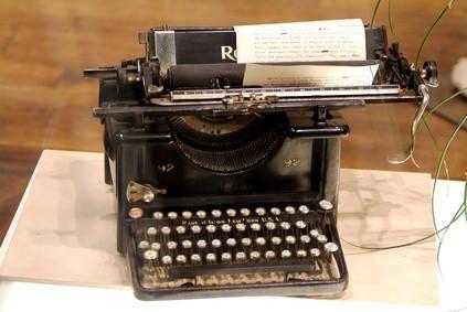 Hur du ändrar menyfliksområdet på en Smith Corona Wordsmith skrivmaskin