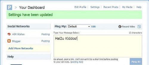 Hur uppdatera alla dina bloggar / sociala nätverk på en gång