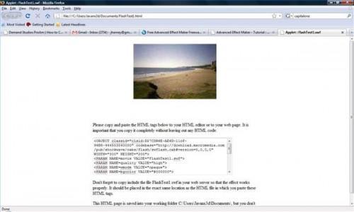 Hur man skapar en Flash-webbplats med Freeware