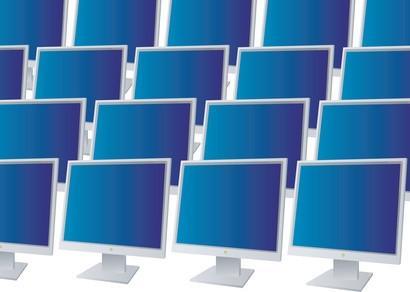 Hur man hämtar Windows Display på flera bildskärmar