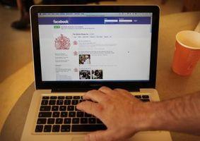 Hur man klär upp en Facebook Wall i Chrome