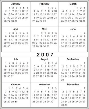 Hur man använder Microsoft Access 2003 för att skapa kalender rapporter