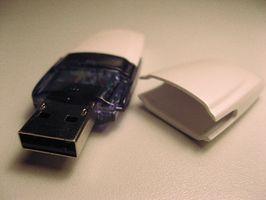 Hur man använder en Lexar USB Jump Drive
