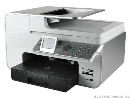 Hur man skriver ut bilder med hjälp av Dell Photo 966 Printer