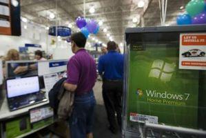 Hur migrera från XP till Windows 7 Använda Windows 7 Home uppgradering