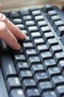 Hur man gör bilder med tangentbordet Text