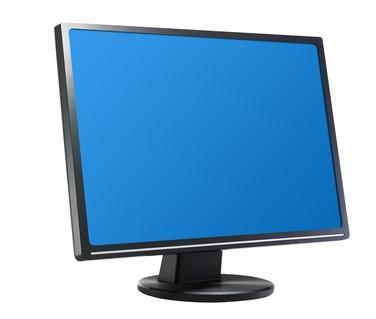 LG 1933 TR monitor är strömlös