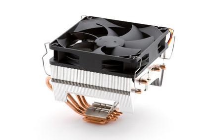 Hur man byter en CPU fläkt på en Dell Dimension 8250