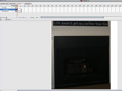Hur man skapar ett fotogalleri i Flash