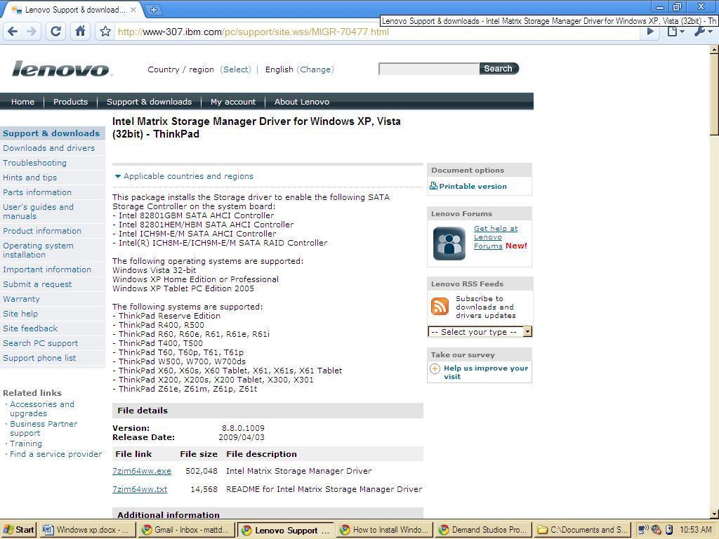 Hur Man Installerar Windows Xp Med En Sata Hårddisk Astrixsoftcom