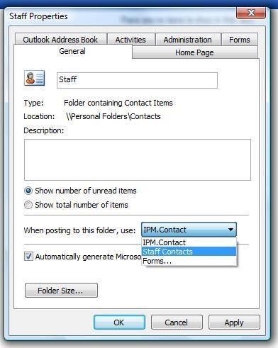 Hur man skapar formulär i Outlook 2002