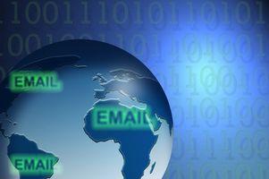 Tecken på en stulen E-postadress