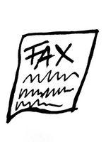 Hur man skickar en fil till Fax