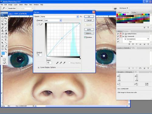 Photoshop Tips för Byta Ögonfärg