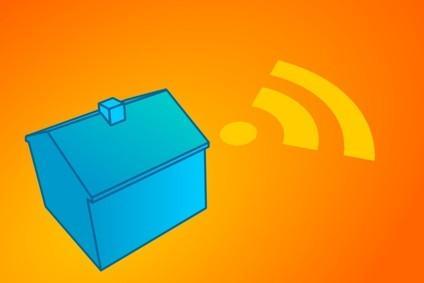 GPS-antenn som arbetar med Network Stumbler