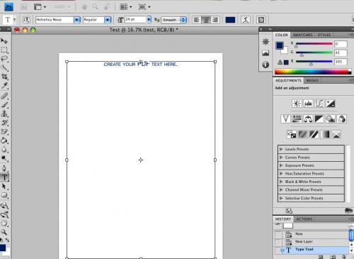 Hur man skapar en PDF-fil med Adobe Photoshop