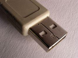 Felsökning en bärbar USB-anslutning