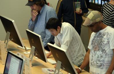 Hur man installerar en Belkin USB 4 port på en iMac