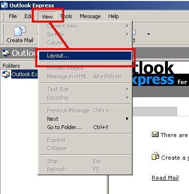 Lägga till en adressbok Kolumn till Outlook Express