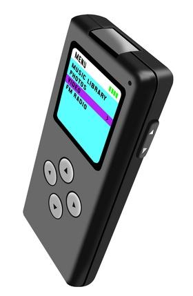 Ta bort bilder och låtar från en MP3-spelare