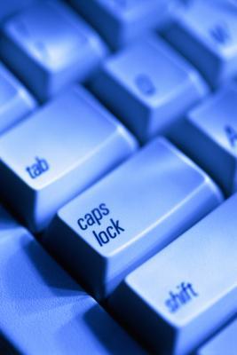 Hur man tar bort Cap Lock popups för Windows Vista Premium