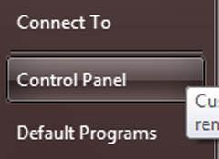 Så för att visa samtliga aktier på Windows XP