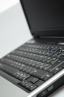 Felsökning ett laptop batteri som är 0% och inte Laddning