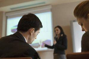 Hur man förbereder en PowerPoint-presentation för en anställningsintervju