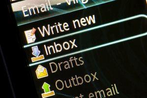 Hur man skriver ut e-post utan rubriker