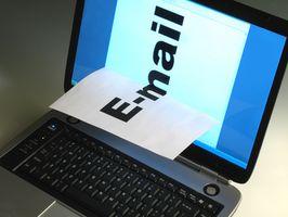 Hur vill kolla Yahoo Mail Med Outlook Express