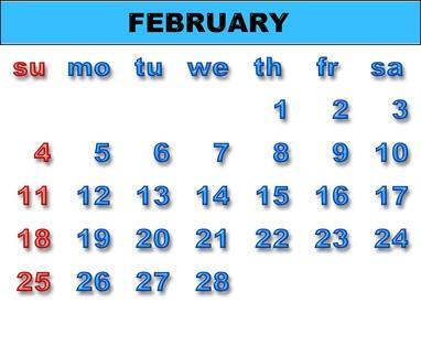 Hur man använder kalkylark som kalendrar