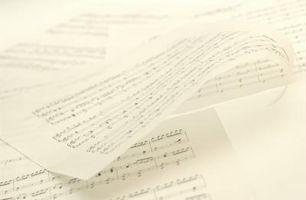 Hur insättningen musikalen noterar i en Facebook-meddelande